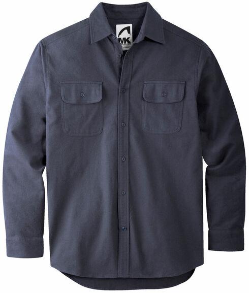 Mountain Khakis Men's Navy Ranger Chamois Shirt, Navy, hi-res