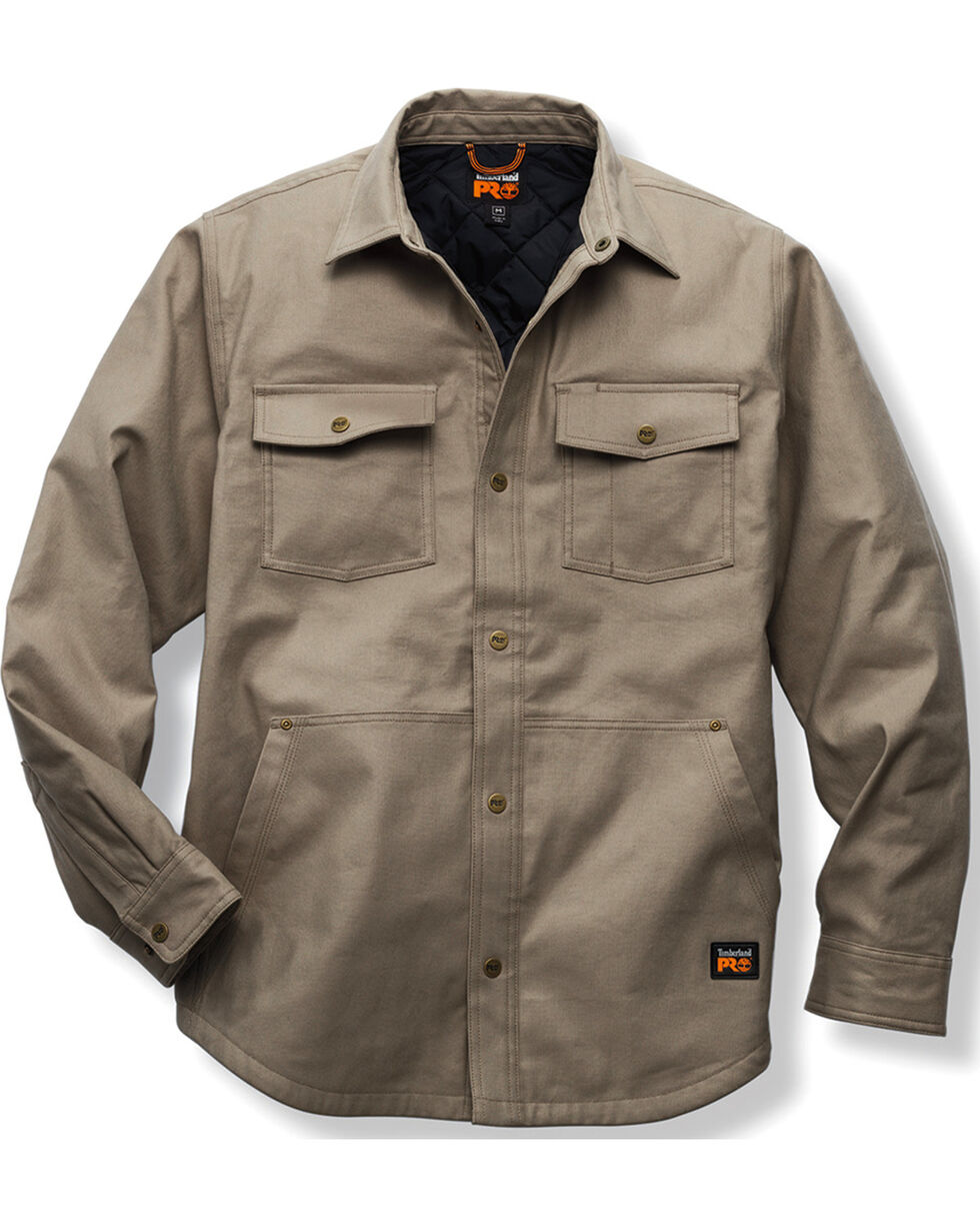 Timberland PRO Gridflex Insulated Shirt Jacket , Brown, hi-res