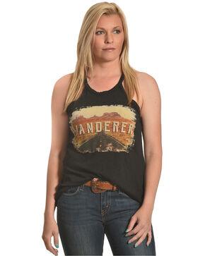 Rock & Roll Cowgirl Women's Wanderer Tank , Black, hi-res