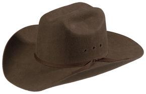 47dbc6fc5eda3d M&F Western Kids Wool Felt Cattleman Cowboy Hat, Brown, hi-res
