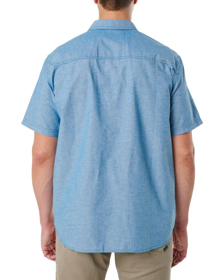5.11 Tactical Men's Ares Short Sleeve Shirt , Bright Blue, hi-res