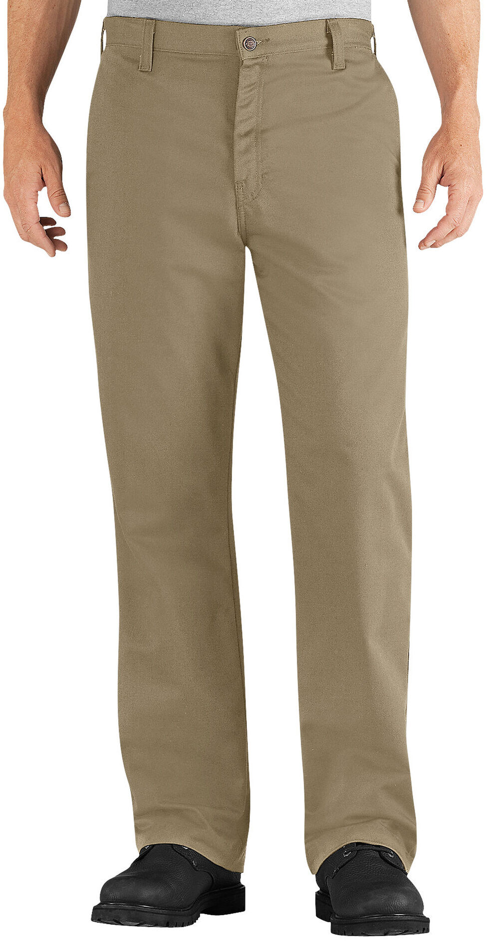 Dickies Flame Resistant Twill Pants, Khaki, hi-res