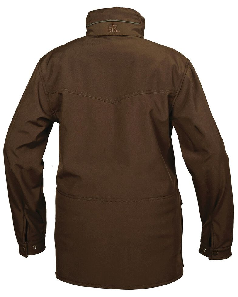 STS Ranchwear Men's Brazos Brown Jacket - Big & Tall , Brown, hi-res