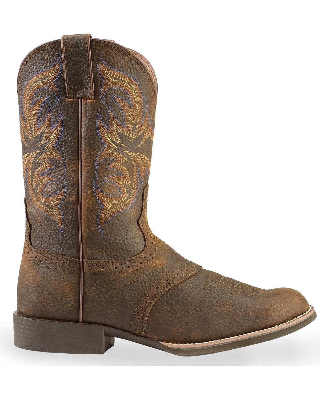 Justin Men's Stampede Cattleman Cowboy