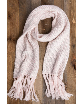 Idyllwind Women's Cozytown Fringe Scarf, Pink, hi-res