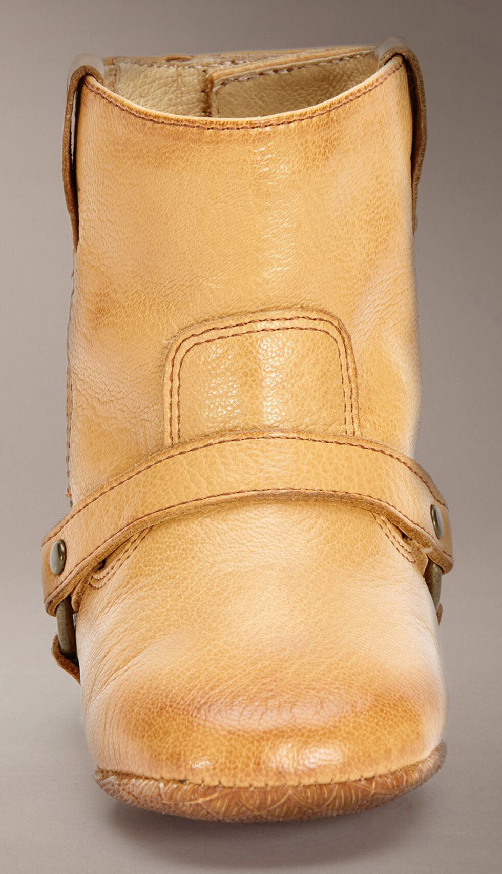 Frye Infants Girls' Velcro Harness Booties - Round Toe, Tan, hi-res