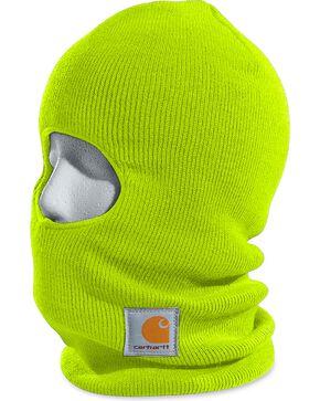 Carhartt Rib Knit Face Mask, Lime, hi-res