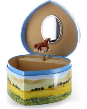 Enchantmints Love of Horses Musical Treasure Box, No Color, hi-res