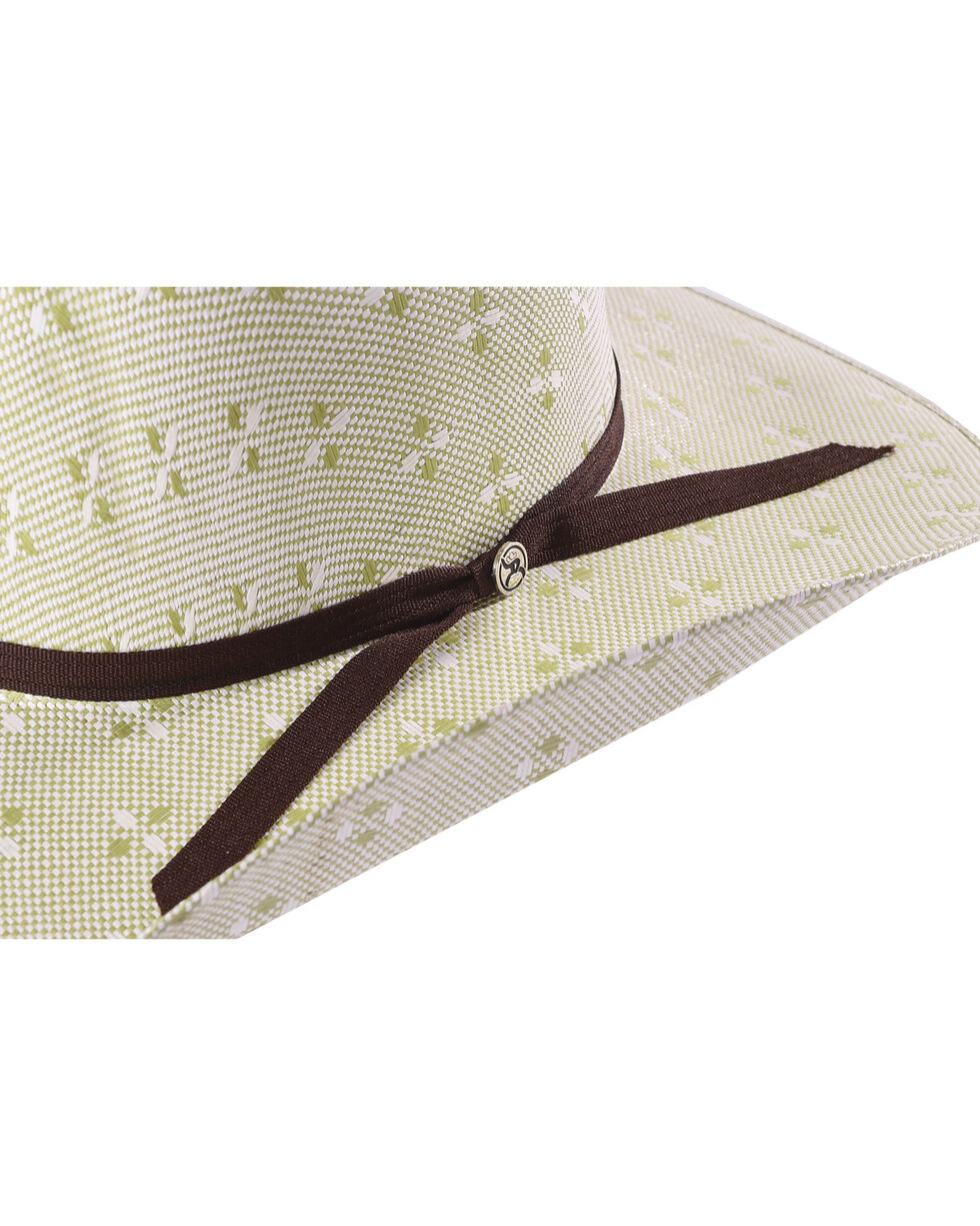 Hooey by Resistol Men's Natural Pecos Straw Cowboy Hat , Natural, hi-res