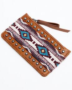 Shyanne Women's Hadley Credit Card Wallet, Brown, hi-res