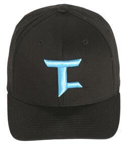 Tuf Cooper Performance Black Twill Logo Cap , Black, hi-res