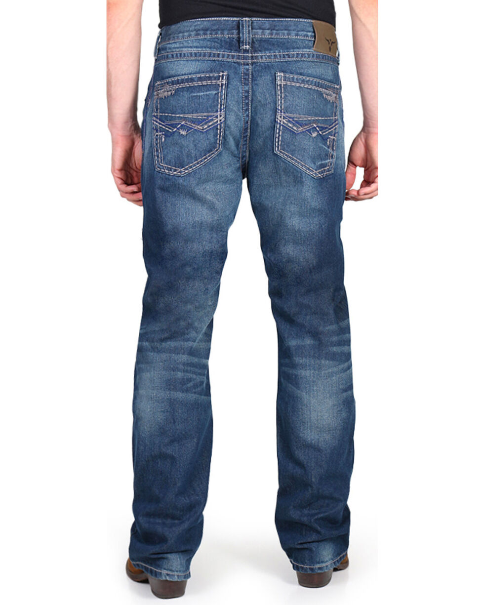 Wrangler Men's Blue 20X No. 33 Extreme Relaxed Fit Jeans - Boot Cut , , hi-res