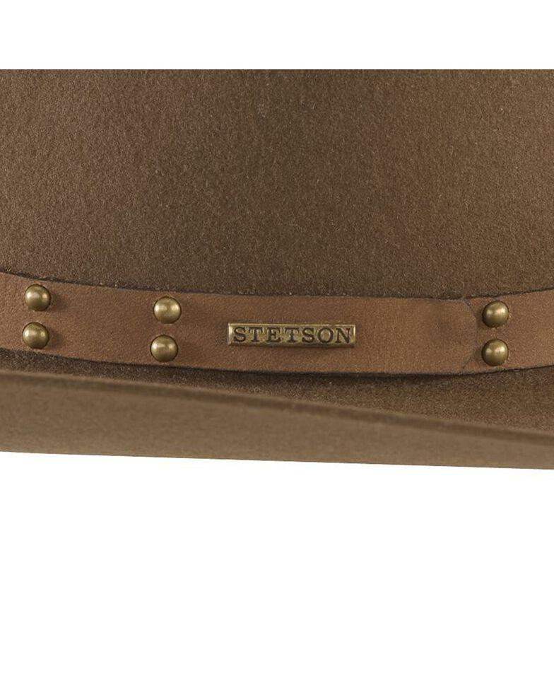 Stetson 4X Seminole Gus Buffalo Felt Cowboy Hat, Mink, hi-res