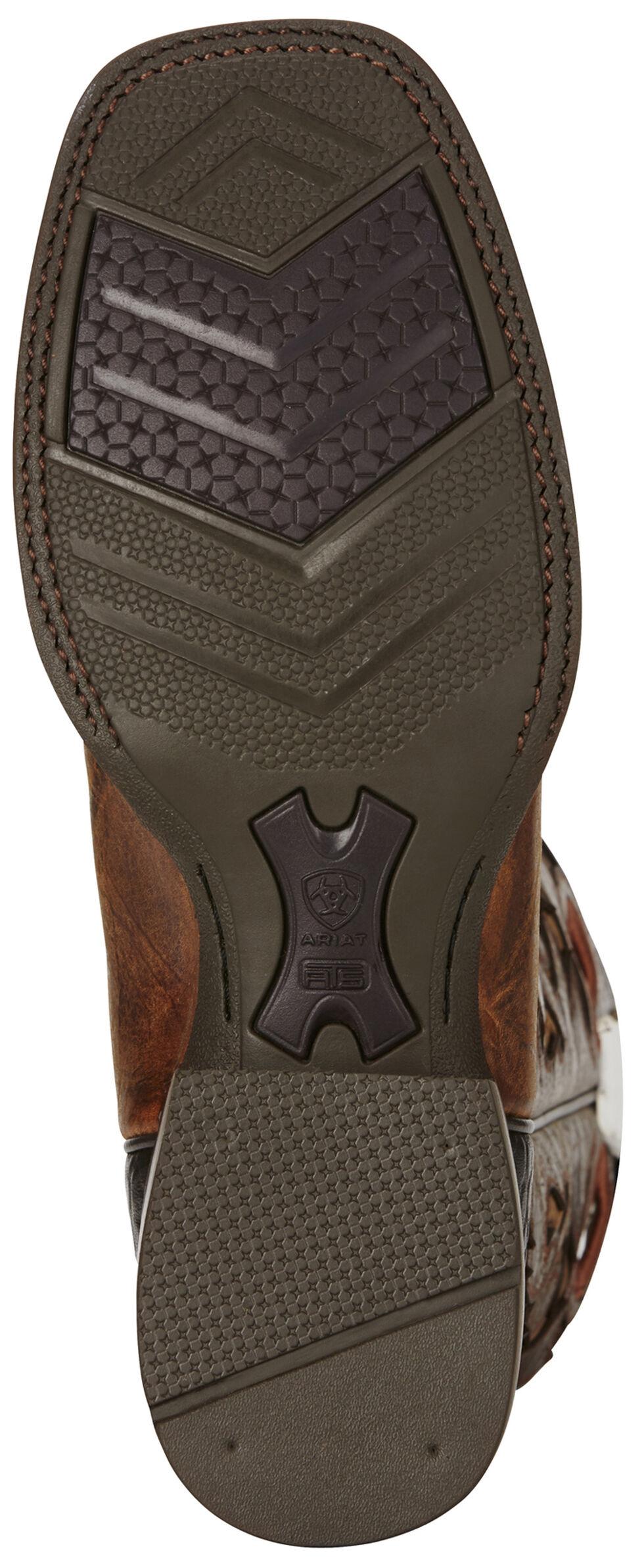 Ariat Copper Barstow Cowboy Boots - Square Toe, Copper, hi-res