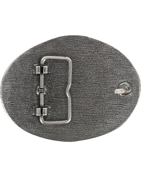 Cody James Men's Military Memorial Belt Buckle, Silver, hi-res