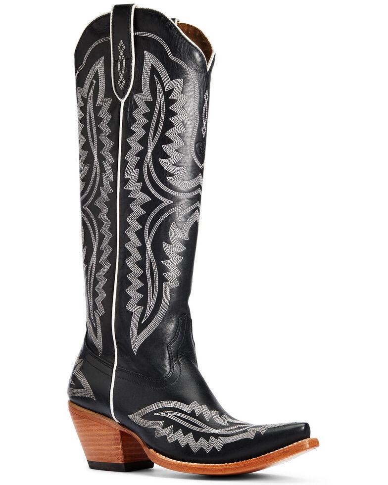 Ariat Women's Casanova Western Boots - Snip Toe, Black, hi-res