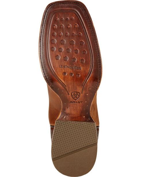 Ariat High Call Cowboy Boots - Square Toe , Dusty Brn, hi-res