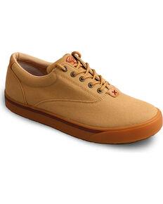 Twisted X Men's HOOey Loper Shoes - Round Toe, Beige/khaki, hi-res