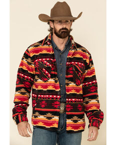 Outback Trading Co. Men's Multi Taos Aztec Big Long Sleeve Flannel Shirt, Multi, hi-res