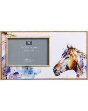 Demdaco Good Lookin' Horse Photo Frame , White, hi-res