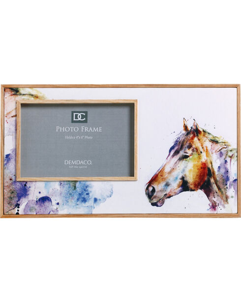 Demdaco Good Lookin' Horse Photo Frame , White, hi-res