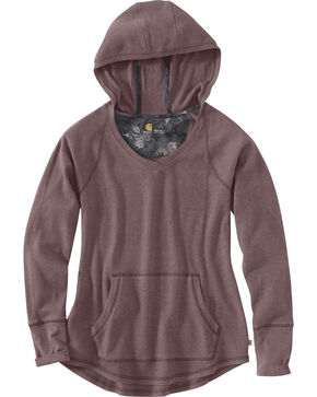 Carhartt Women's Meadow Hoodie , Heather Grey, hi-res