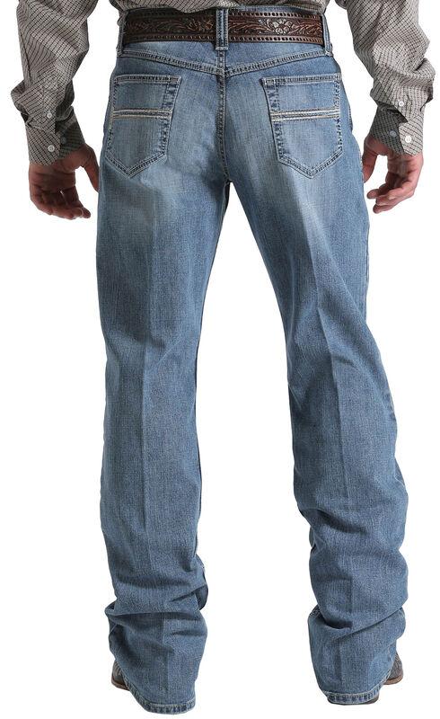 Cinch Men's Indigo Carter 2.5 Mid-Rise Relaxed Jeans - Boot Cut, Indigo, hi-res