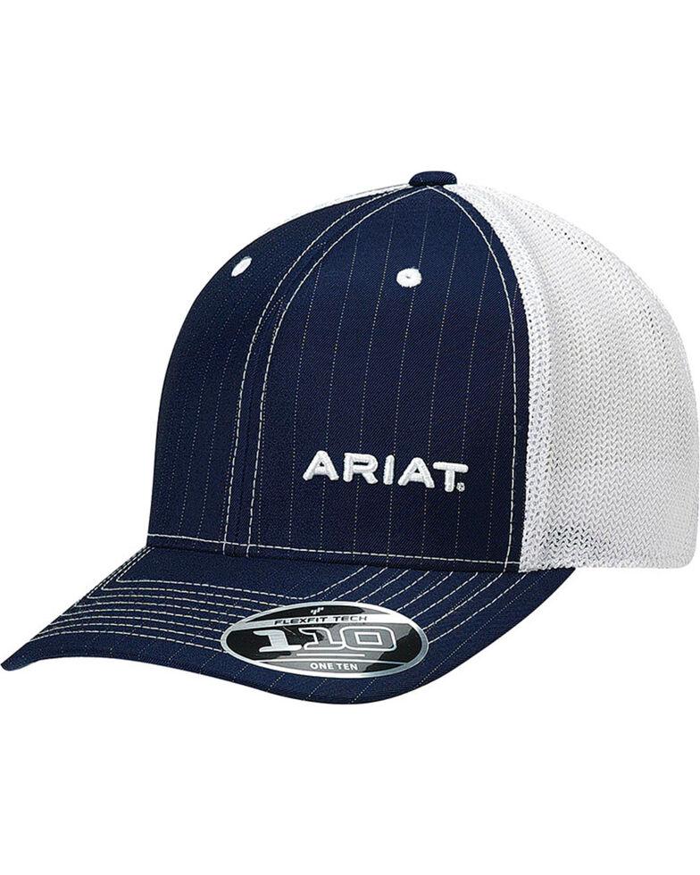 Ariat Men s Navy Pinstripe Pattern Baseball Cap  6c4a379687a