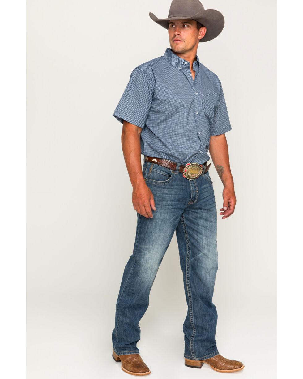 Cody James Men's McKinney Short Sleeve Shirt, White, hi-res