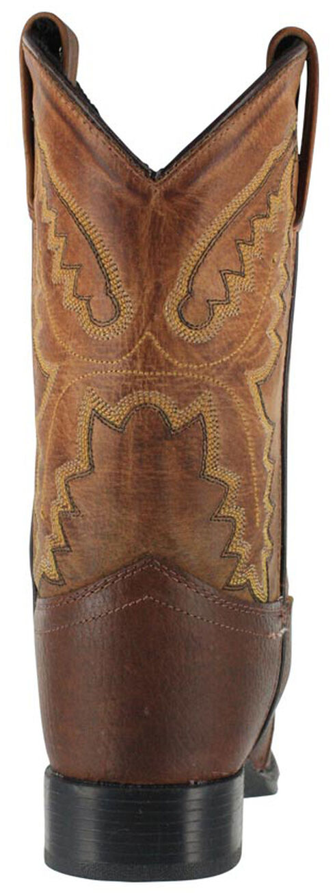 Cody James Boys' Brown Cowboy Boots - Round Toe, Brown, hi-res