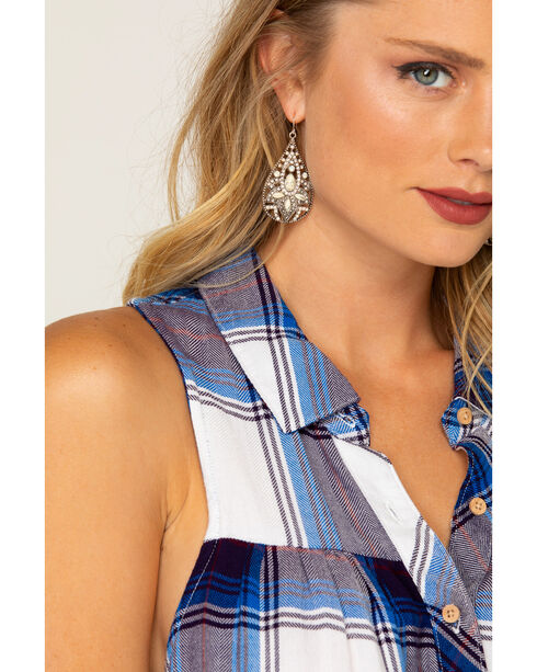Shyanne Women's Teardrop Dazzle Earrings, Sand, hi-res