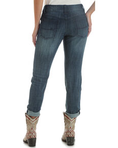 Wrangler Retro Women's Medium Wash Mae Skinny Jeans , Indigo, hi-res