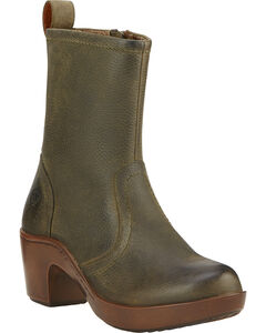 Ariat Brittany Women's Clogs, Brown, hi-res