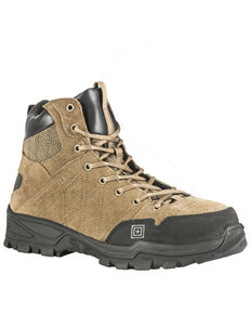 5.11 Tactical Men's Cable Hiker Carbon Tac Toe Boots, Dark Coyote, hi-res