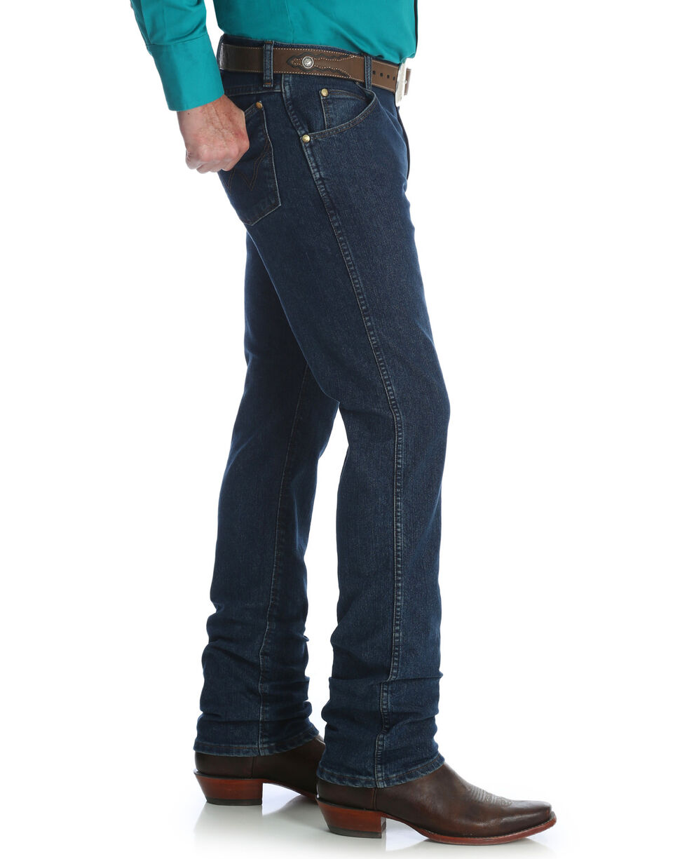 Wrangler Men's Midnight Rinse Premium Performance Cowboy Cut Slim Jeans - Big & Tall , Indigo, hi-res
