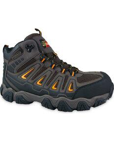 Thorogood Men's Waterproof Hiker Work Boots - Composite Toe, Brown, hi-res