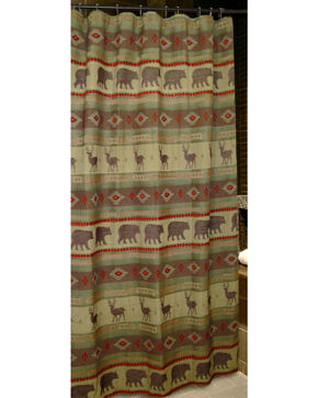 Carstens Heartland Shower Curtain, Green, hi-res