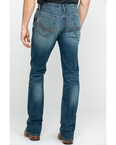 Cinch Men's Ian Medium Mid Rise Slim Bootcut Jeans , Indigo, hi-res