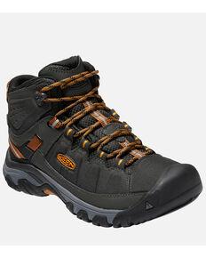 Keen Men's Targhee Waterproof Hiking Boots - Soft Toe, Charcoal, hi-res