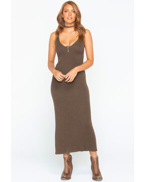 Tasha Polizzi Women's Helena Dress , Brown, hi-res