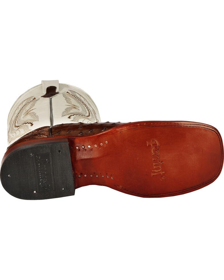 Ferrini Men's Kango Full Quill Ostrich Cowboy Boots - Wide Square Toe, Kango, hi-res