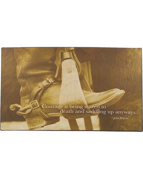 Gift Craft Cowboy Boot Wall Sign , No Color, hi-res