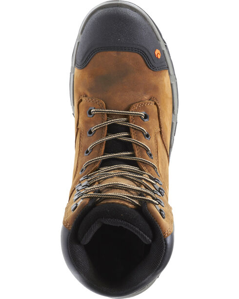 "Wolverine Men's Legend Durashocks 8"" Work Boots - Composite Toe, Tan, hi-res"