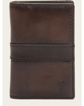 Frye Men's Oliver Tall Billfold Wallet , Dark Brown, hi-res
