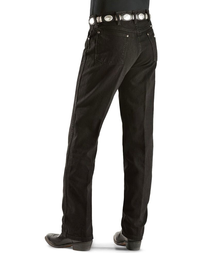 Wrangler Jeans - 13MWZ Original Fit Silver Edition, Black Denim, hi-res