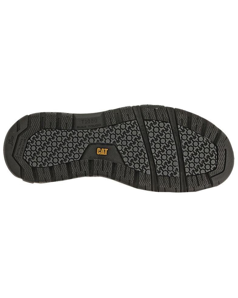 Caterpillar Women's Brode Work Shoes - Steel Toe, Dark Grey, hi-res