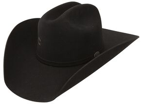 Charlie 1 Horse Cash 4X Wool Felt Western Hat, Black, hi-res