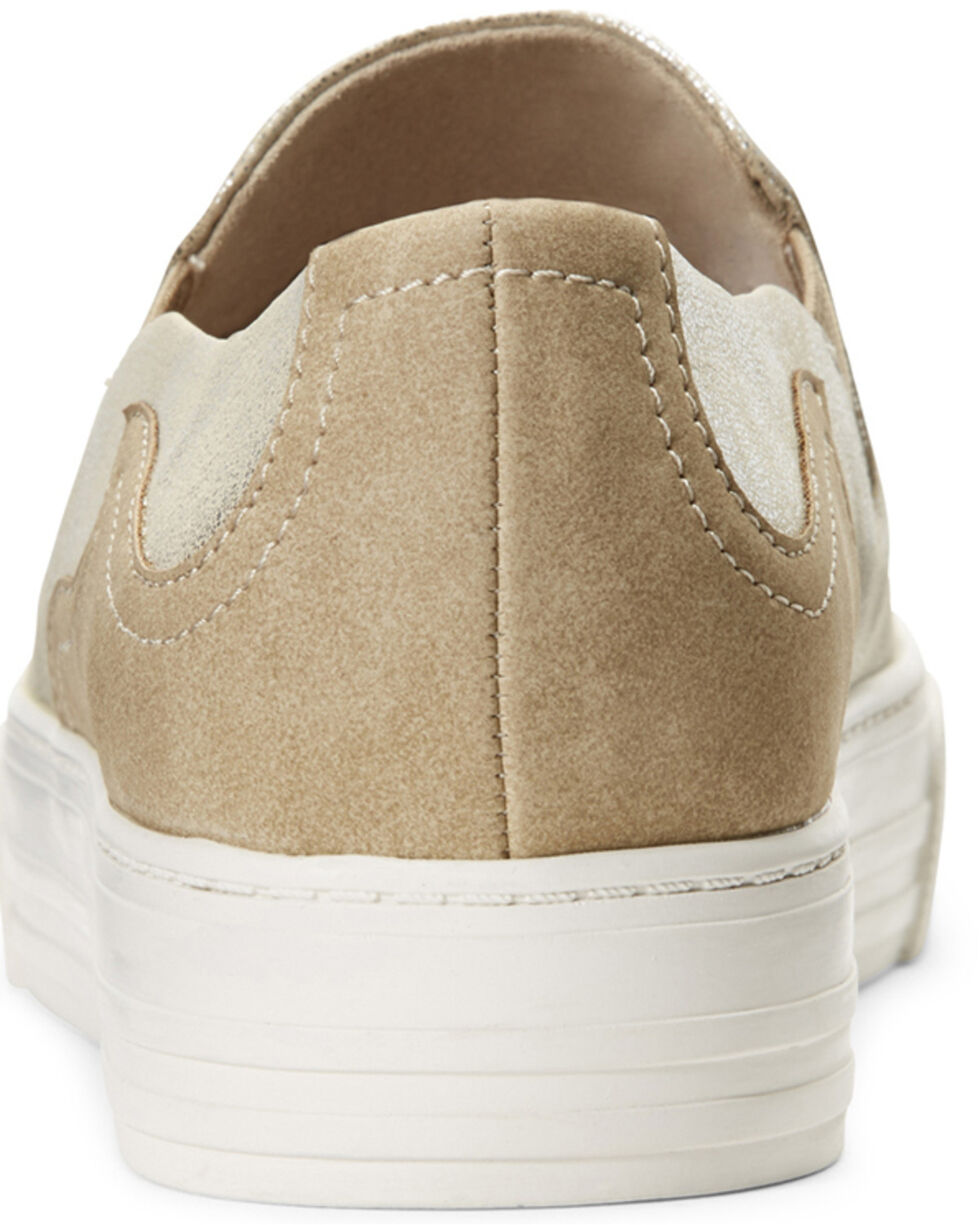 Ariat Women's Unbridled Gigi Slip-On Shoes, Tan, hi-res