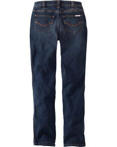 Carhartt Women's Nyona Straight Leg Jeans - Short, Indigo, hi-res