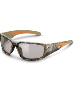 Realtree Razorback Safety Glasses Clear Lens, Camouflage, hi-res